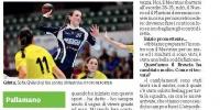 Giornale di Brescia: Piedi per terra ma non quando è sul campo
